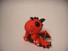 Red Dragon Side view by XDtheBEASTXD
