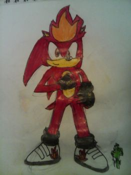 Rod The Hedgehog by TheOneAndOnlyCactus