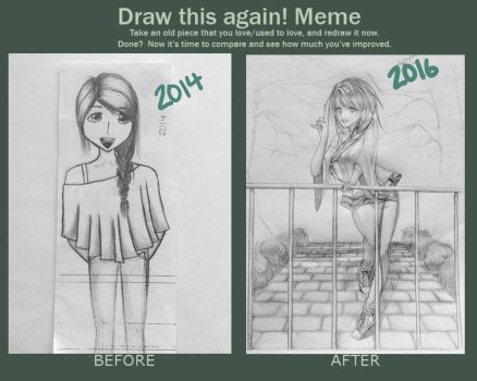 Draw It Again 2014-2016 by SushimiTsukimi