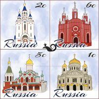 Russian Churches by InterGrapher