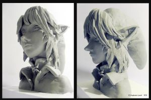 Link Sculpture by Tikaru17
