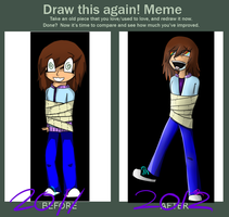 Draw This Again Meme - TOILET PAPER by Rinvidia