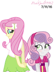 Duo of Equine Cuteness by PinkGurl19912
