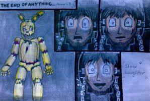 FNAF 3 Comic: THE END OF ANYTHING (part 25) by SammfeatBlueheart