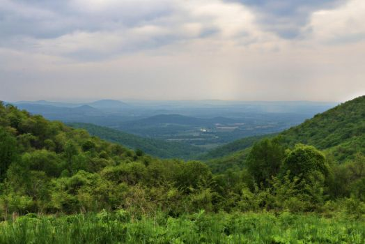 Skyline Drive, VA by applerust