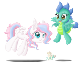 Flutter Rush and Veerta. CM for Dragolicious. Pt.1 by UniSoLeiL