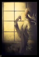 Window Beside Me - commission by shirotsuki