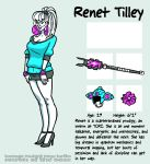 Secrets Of The Ooze: Renet Tilley by mooncalfe