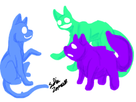 Color cats by BlazingWolf9