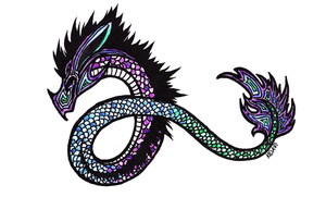 Dragon Tatoo by Kida-Ookami