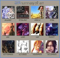 2009 Summary of Art by Morisan
