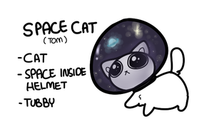 Space Cat by QTipps