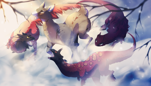 For one's survival by Unikeko