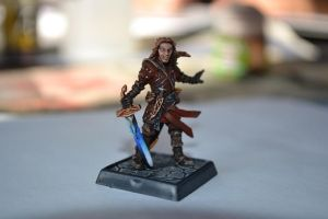 Elven Cleric of Tempus by Brother-Maynard