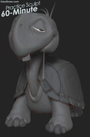 Turtle - 60-Minute Practice Sculpt by GaryStorkamp