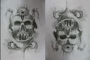 Skull by JOKERSHADOW666