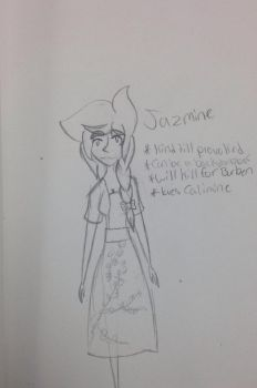 OC: Jasmine! by Fridaythekid