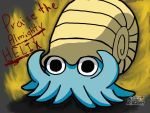 The Almighty Helix,Omanyte-Text Version 3 by Destiny-The-Hedgimon