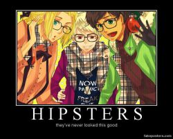BTT Hipsters by KawaiiGirl15