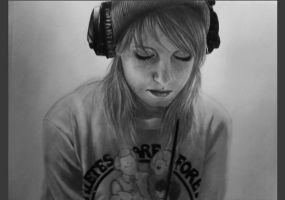 Hayley Williams III by cloe-patra