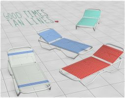 Pool Chair by deexie