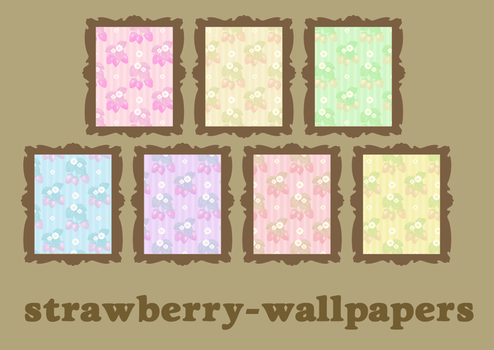 strawberry wallpapers1 by M-seiran