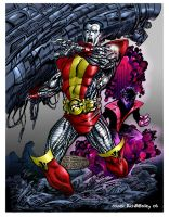 Colossus and Night Crawler by richmbailey