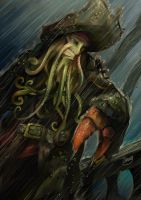 Davy Jones in the storm by zgul-osr1113