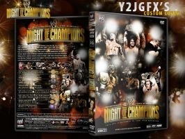 Night Of Champions DVD Cover by Y2JGFX