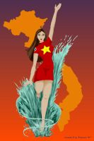 Tsunami of Vietnam by AlmightyOracle