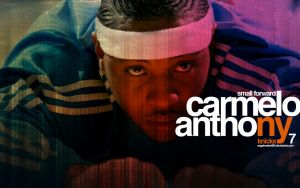 Carmelo Anthony Knicks Wall 4 by IshaanMishra