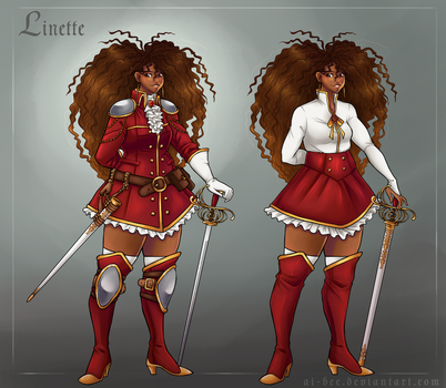 OoC - Linette by Beedalee-Art