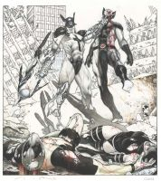 X Force cover second issue by simonebianchi