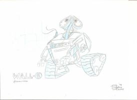 Character Sketch - WallE by Dustin-C