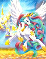 Impression, Celestia by Muffyn-Man