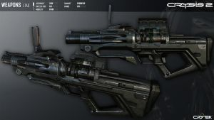 Crysis 2 L-TAG Grenade Launcher by Scarlighter