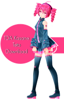 TDA Kasane Teto Download by KigiminLen