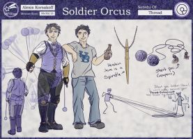 SMV Character Reference: ORCUS by Cionie