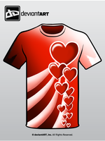 Heart shirt by ShinTheDragonFighter