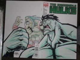 Hulk and Son by WOLVERINE76