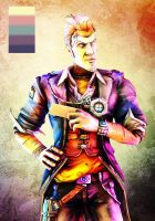 Palette - Handsome Jack by Yhrite