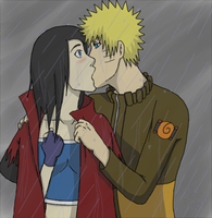 I Wanted To Kiss You in the Rain :Commish: by OathKeeps