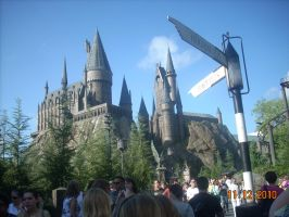 Hogwarts Castle from HP World by xbeachgirl13