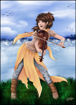 Lindsey Stirling by RiaStarchild