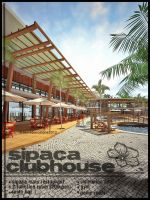 clubhouse vertical shot advertise by davens07