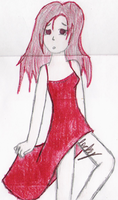 the demonic girl in the dress by loverlyness