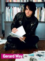 Gerard Way 2 by xXMsPhantomPunkXx