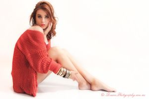 Red Jumper by DreamPhotographySyd