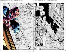Spider-man Page Preview by Creation-Matrix