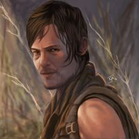 Daryl Dixon - The Walking Dead by Ignis-vitae